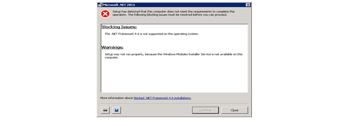.NET Framework 4.6.1 install problem on windows 7